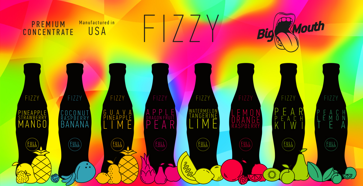 Big Mouth Fizzy Line