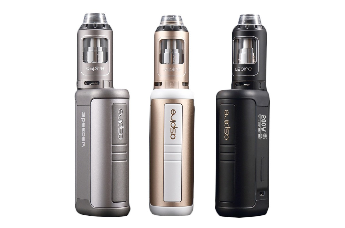 Aspire Speeder 200W Kit mit Athos Clearomizer