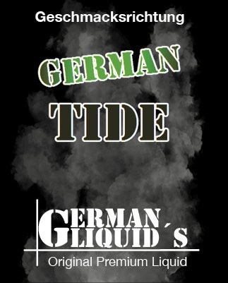 German Tide von German Liquids bei Vapedoo.de