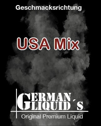 USA Mix von GermanLiquids bei Vapedoo.de