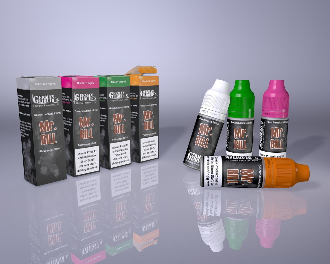Mr. Bill von German Liquids bei Vapedoo.de
