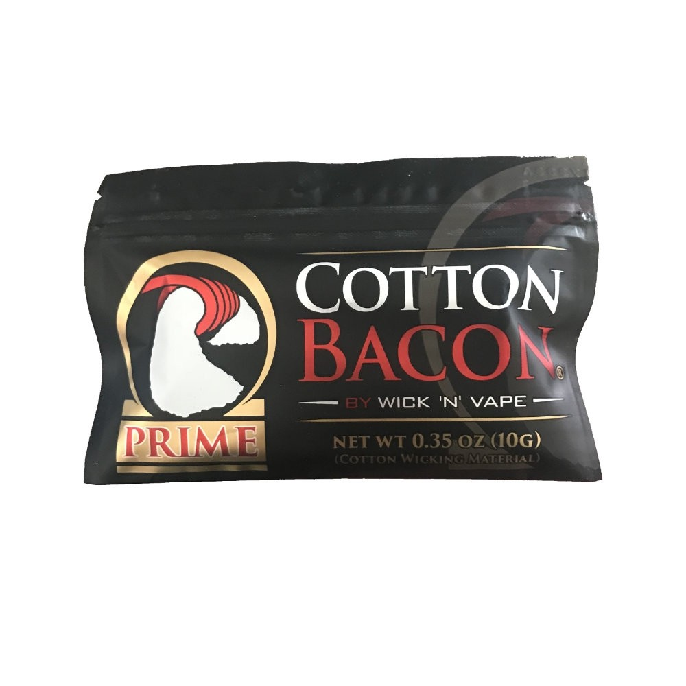 Cotton Bacon Bits Prime by Wick'n'Vape