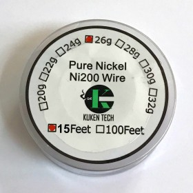 Wickeldraht Nickel NI200 0,41mm / 4,57m